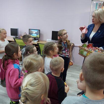 Dagdas pilsētas bērnu bibliotēkā